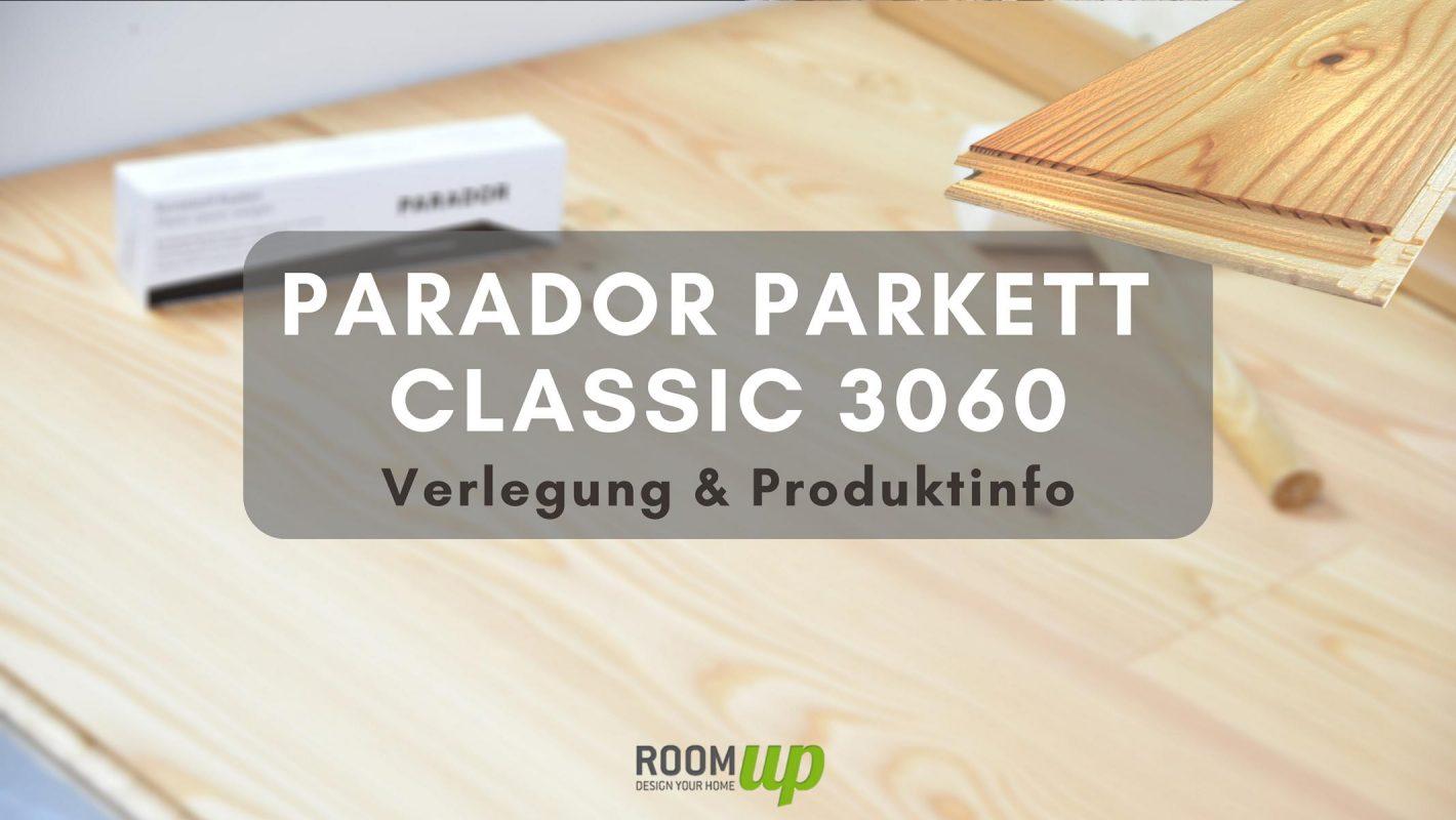 PARADOR Classic 3060 Parkett verlegen & Produktinfo