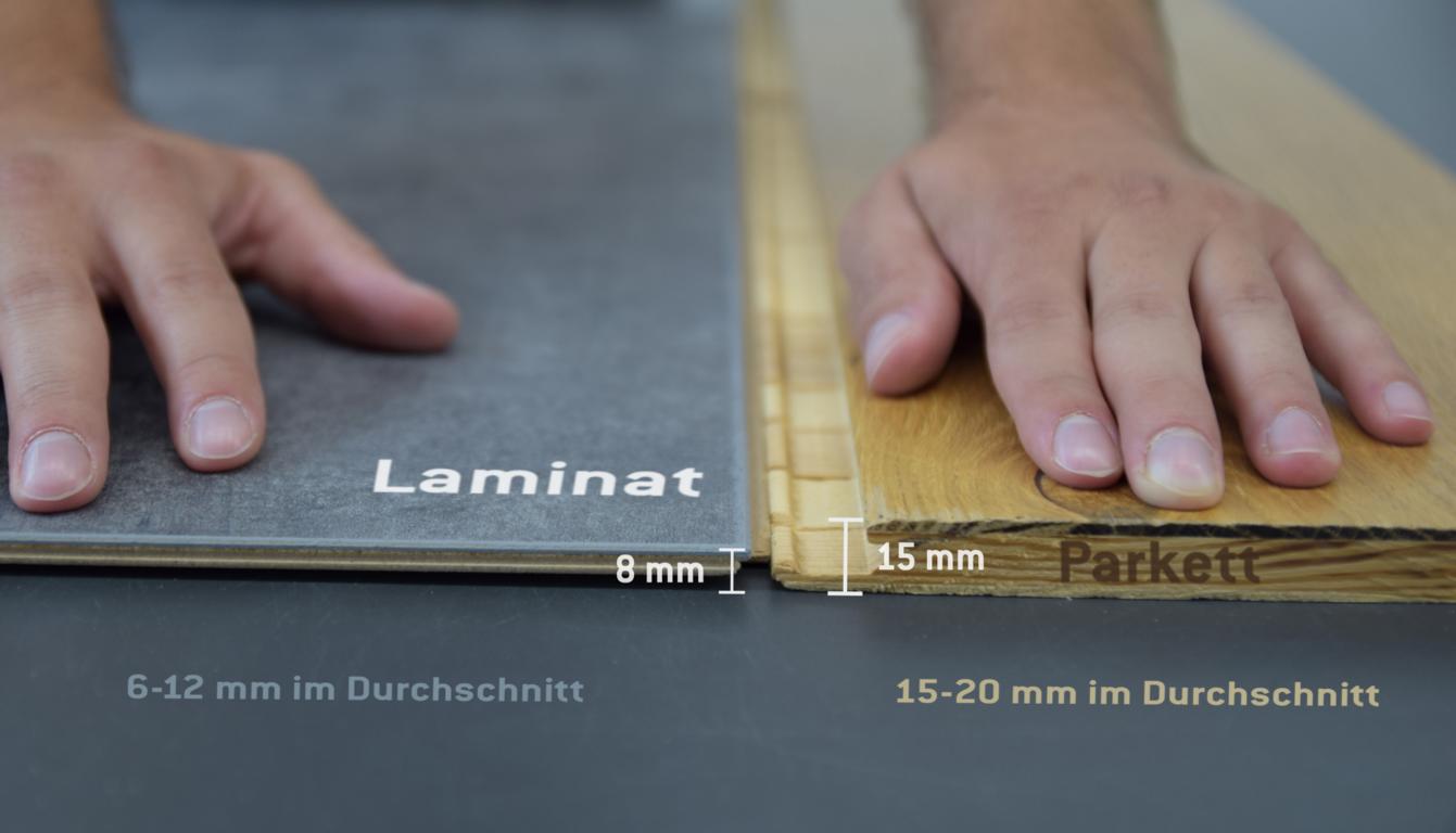 Laminat oder Parkett? - Magazin und Ratgeber für Bodenbeläge ...