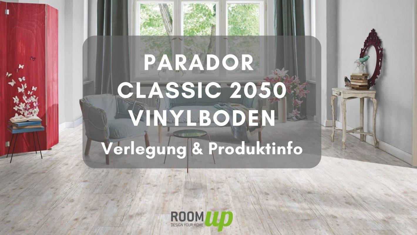 PARADOR Vinyl Classic 2050 verlegen & Produktinfo