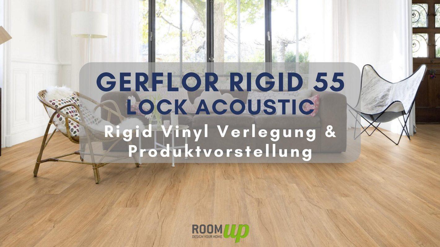 GERFLOR Rigid 55 Lock Acoustic verlegen & Produktinfo