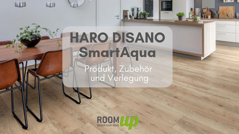 HARO Disano SmartAqua - Produkt, Zubehör und Verlegung