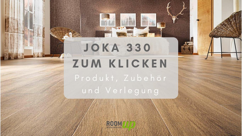 Designboden JOKA 330 zum Klicken - Produkt, Zubehör + Verlegung