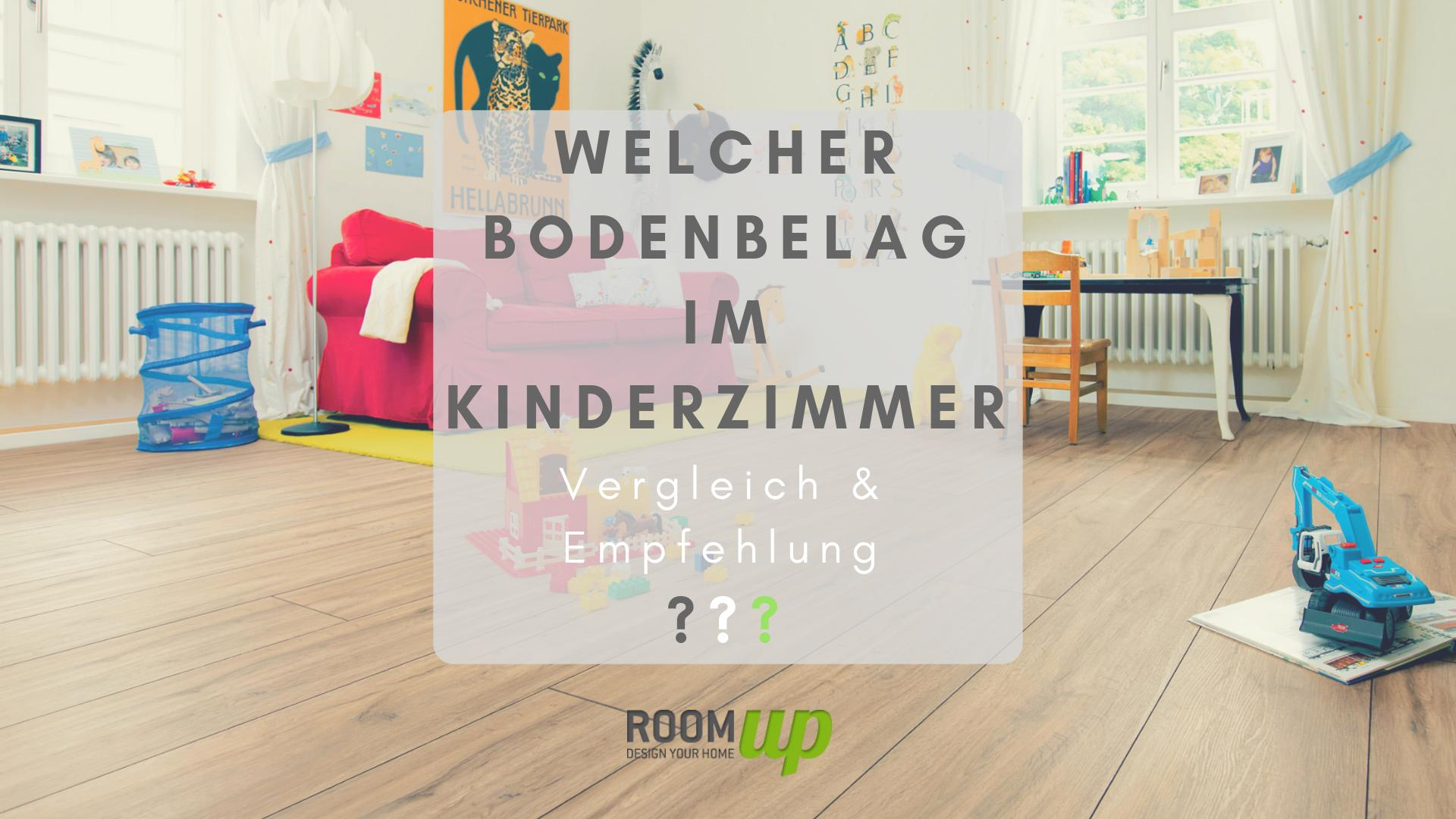Welcher Bodenbelag im Kinderzimmer? - Room Up Magazin