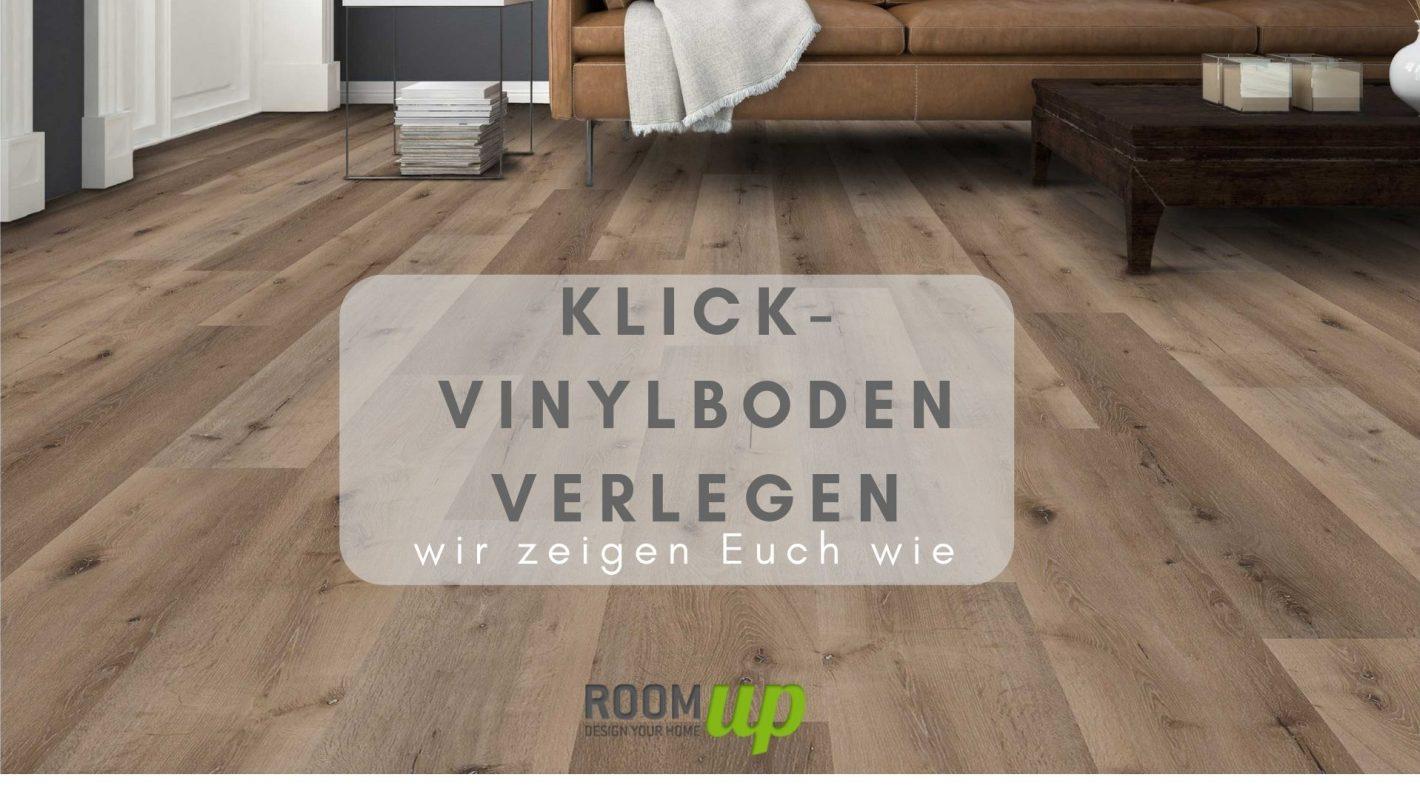Klick-Vinylboden verlegen