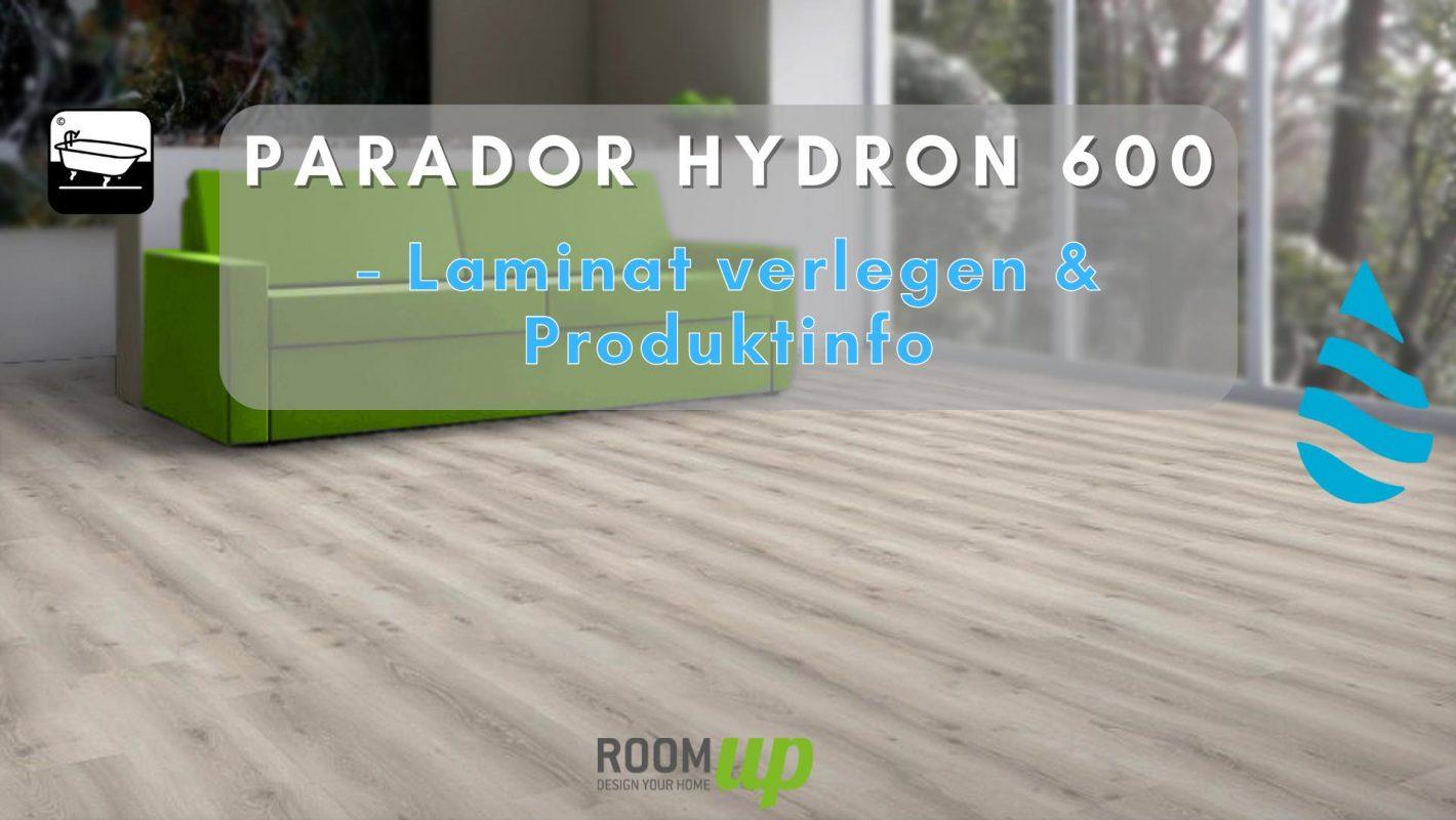 PARADOR Hydron 600 Laminat verlegen & Produktinfo