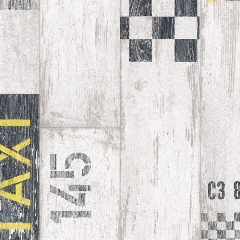 Tarkett Trend Taxi black yellow - PVC Boden Tarkett Trend