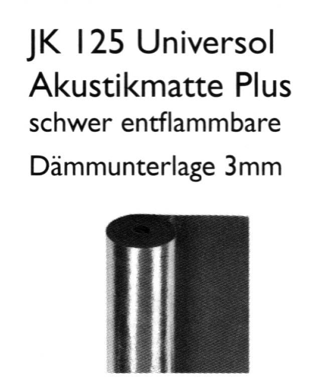 JK 125 Universol Akustikmatte Plus - Joka