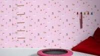 Vorschau: Cupcake rosa Kinderwelt - A.S. Creation Papier-Tapete