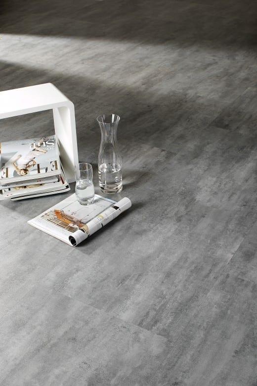 graphit beton ziro vinylan hydro object vinylboden. Black Bedroom Furniture Sets. Home Design Ideas