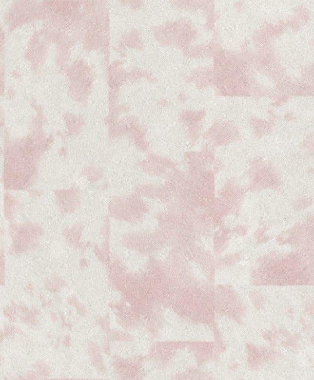 Tierfell rosa - Rasch Vlies - Tapete Tierprint