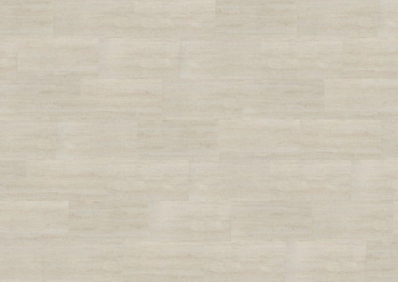 Polar Travertine - Wineo 600 Stone Vinyl Fliese zum Kleben