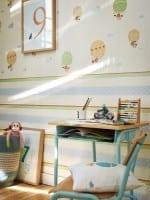 Vorschau: Heißluftballon Kinderwelt - A.S. Creation Papier-Tapete