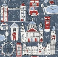 Vorschau: London - Rasch Papier Kindertapete