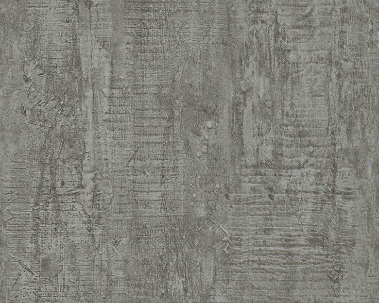 Dark Grey Rustic Betonoptik - A.S. Creation Vlies-Tapete