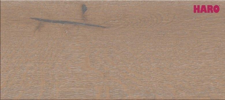 Eiche sandbraun gekalkt Sauvage strukturiert 4V - Haro Parkett Landhausdiele Serie 4000