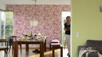 Vorschau: Blumenwiese bunt Kinderwelt - A.S. Creation Papier-Tapete