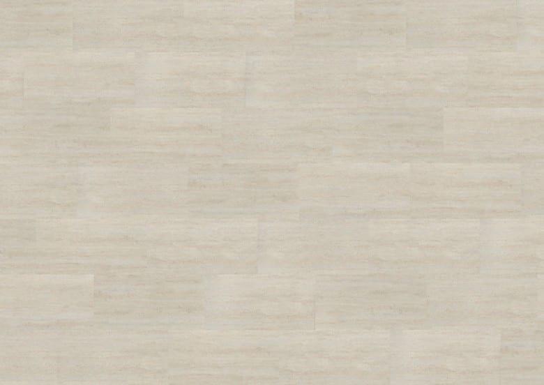 Polar Travertine - Wineo 600 Stone Vinyl Fliese zum Klicken
