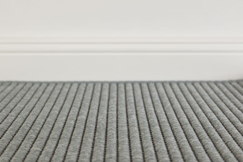 Bentzon Como 008008 Grau - gewebter Teppichboden