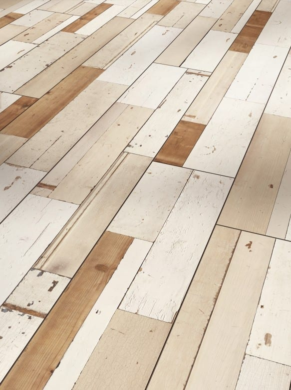 Parador Trendtime 6 - Brushboard white Seidenmatte Struktur 4V - 1567475 - Room Up - Seite