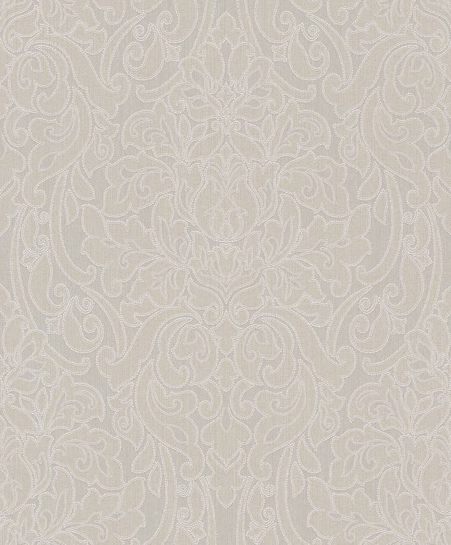 Victoria beige - Rasch Vlies-Tapete Barock