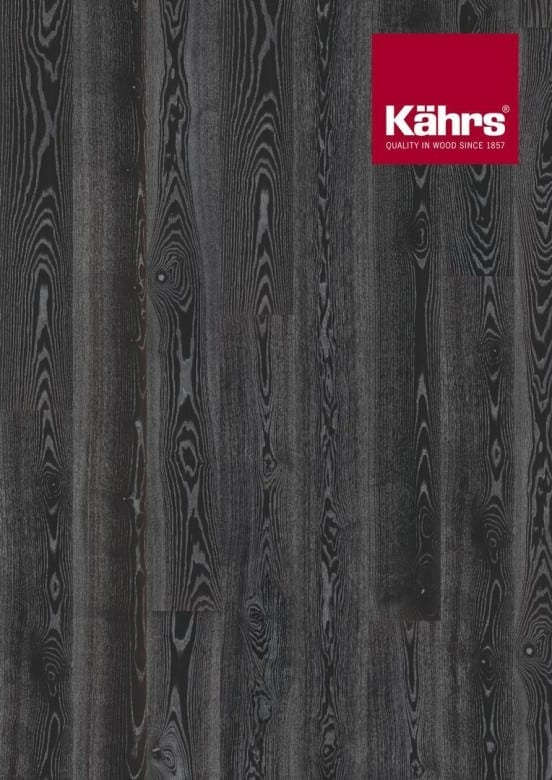 Esche Black Silver XL-Dielen Metallic- Kährs Parkett Shine Collection