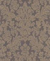 Vorschau: Tapete Barock Grau Beige - Rasch Vlies - Floralprint