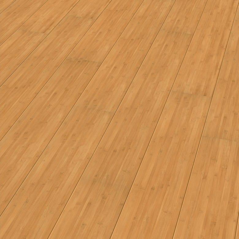Bambus gedämpft Elesgo Rundkante Extra Sensitive - Laminat Holzoptik Hochglanz
