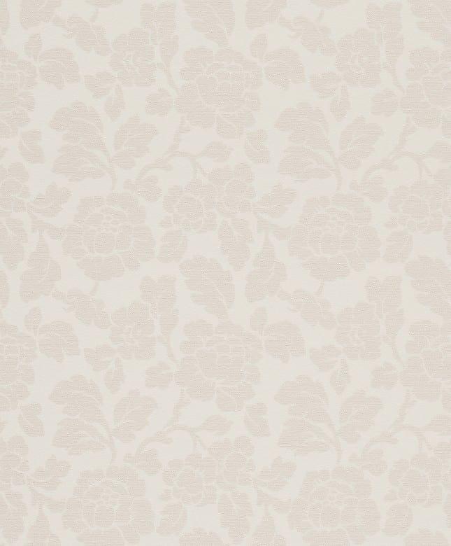 Tapete Barock Rosa - Rasch Vlies - Floralprint