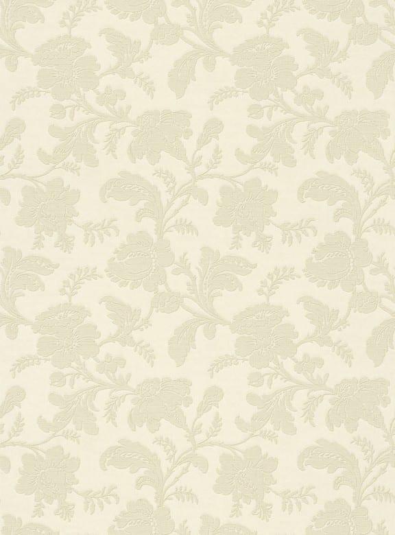 Floral Barock Creme - Rasch Vlies-Tapete