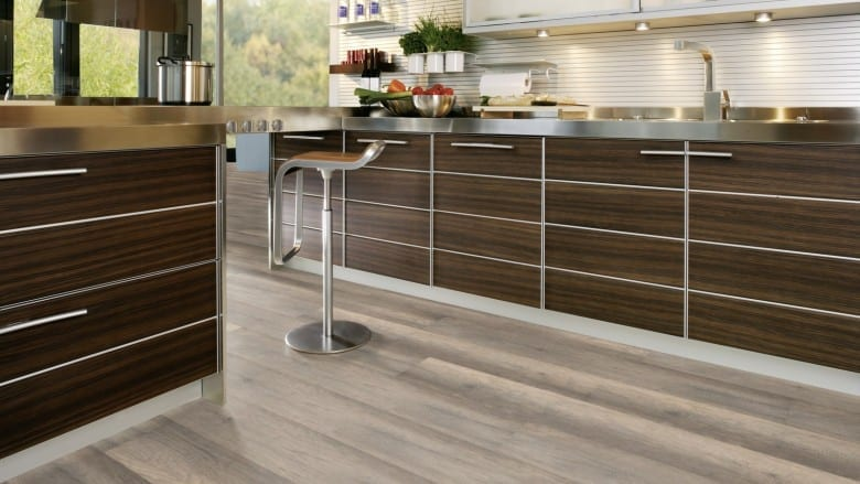 Calistoga Grey - Wineo Purline 1000 Wood Klick Design-Planke