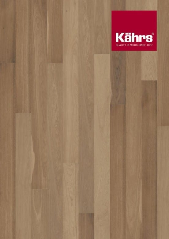 Eiche Fumoir XL-Dielen geräuchert - Kährs Parkett Shine Collection