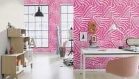Vorschau: Tierfell Pink - Rasch Vlies - Tapete Tierprint Moderne