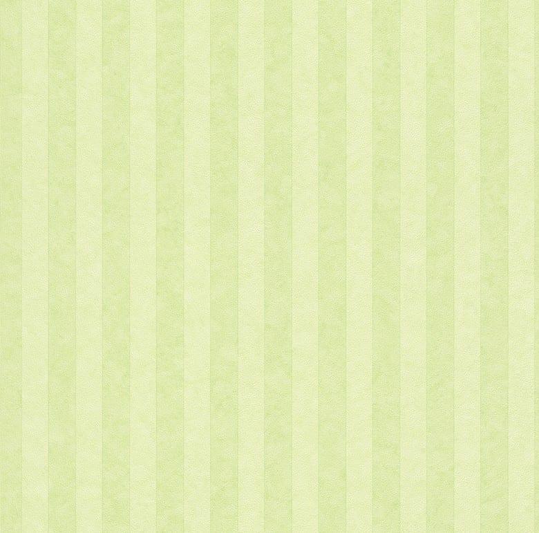 Grün Gestreift - Rasch Papier Kindertapete