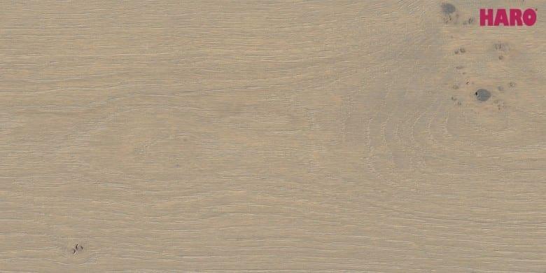 Eiche Puro grau Markant strukturiert 4V - Haro Parkett Landhausdiele Serie 4000
