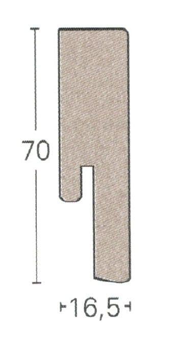 SL18 - Parador Dekor Sockelleisten (3,85€/lfm)