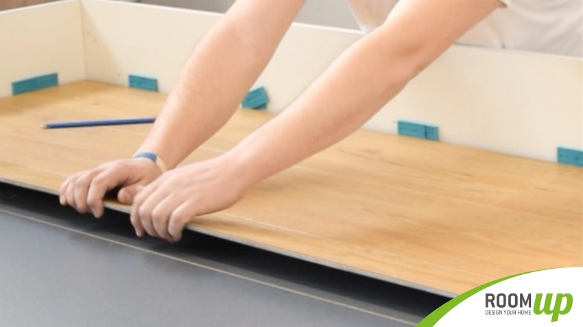 Vinylboden mit Klicksystem verlegen