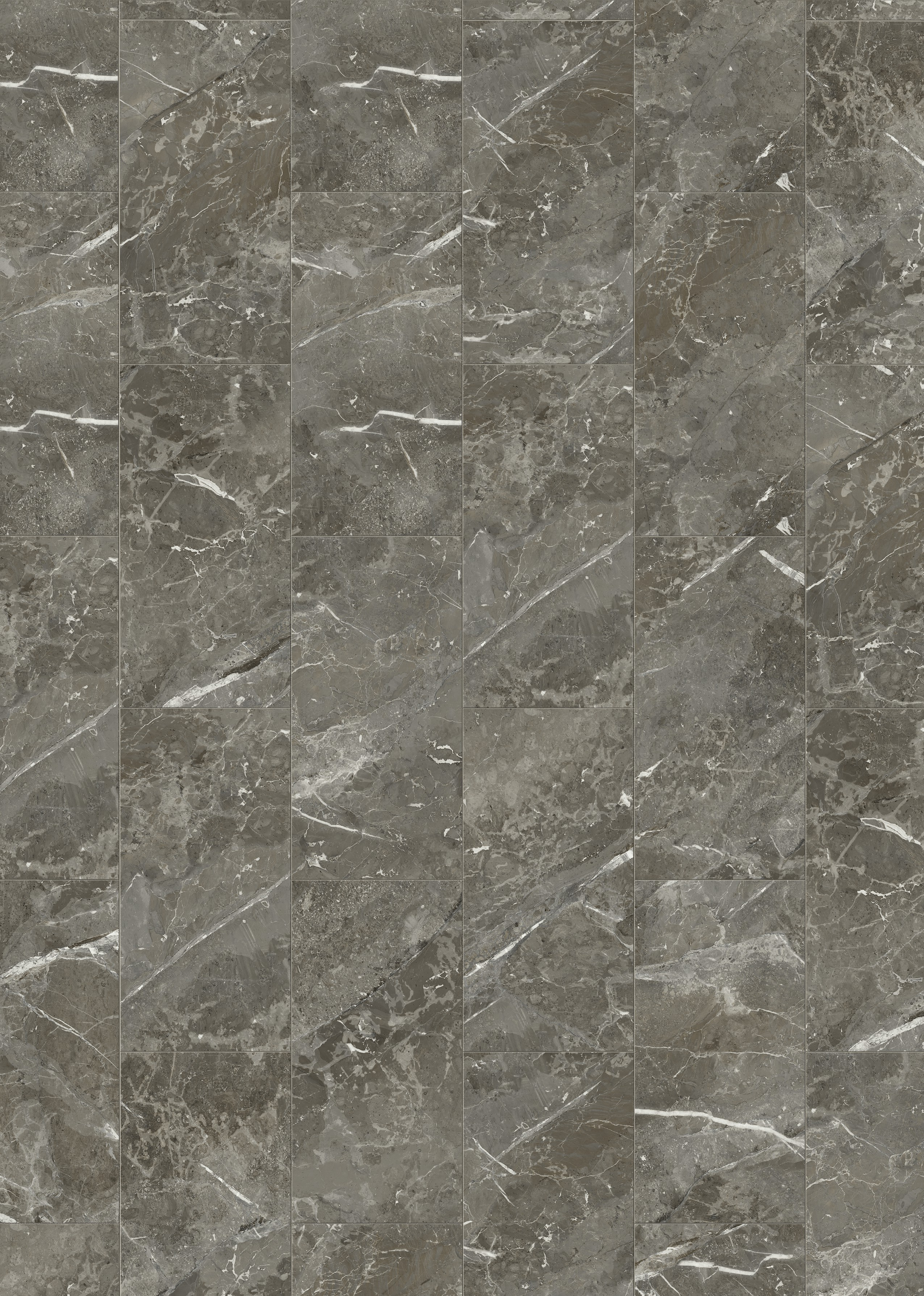 MUSTER VisioGrande Laminat Autentico Fliese Granit dunkel 8 mm