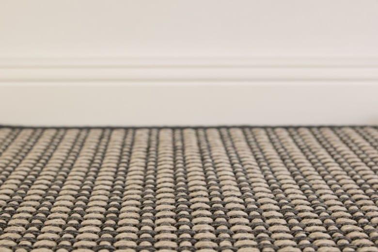 Bentzon Elba Duo 213109 Beige-Grau - gewebter Teppichboden