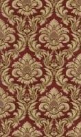 Vorschau: Ornament Barock Rot - Rasch Vlies-Tapete