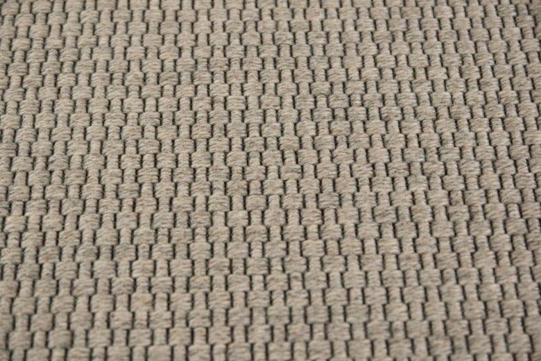 Bentzon Skagen 068034 Cremegrau - gewebter Teppichboden