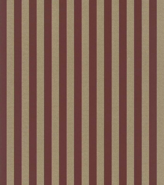 Streifen Barock Rot Gold - Rasch Vlies-Tapete
