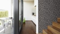 Vorschau: Stone Wall Grey Steinoptik- A.S. Creation Vlies -Tapete