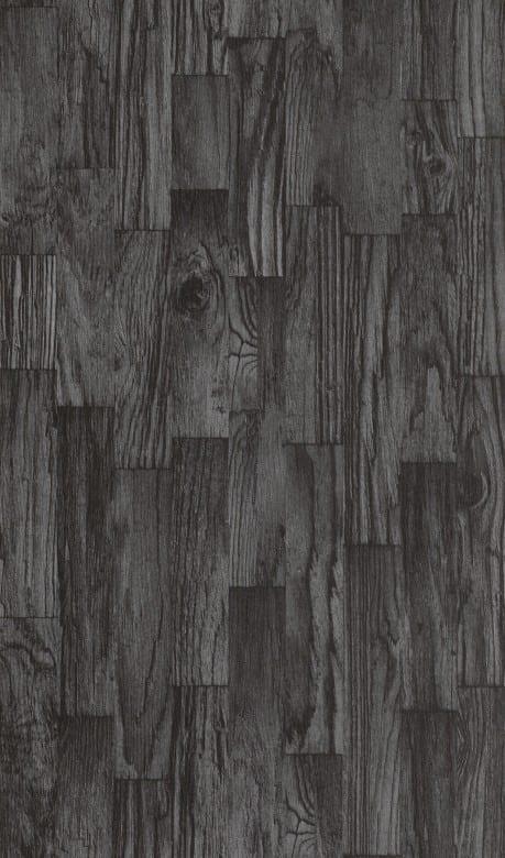 Treibholz Anthrazit - Rasch Vlies-Tapete Holzoptik