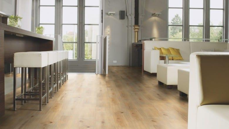 Island Oak Honey - Wineo Purline 1000 Wood Klick Design-Planke