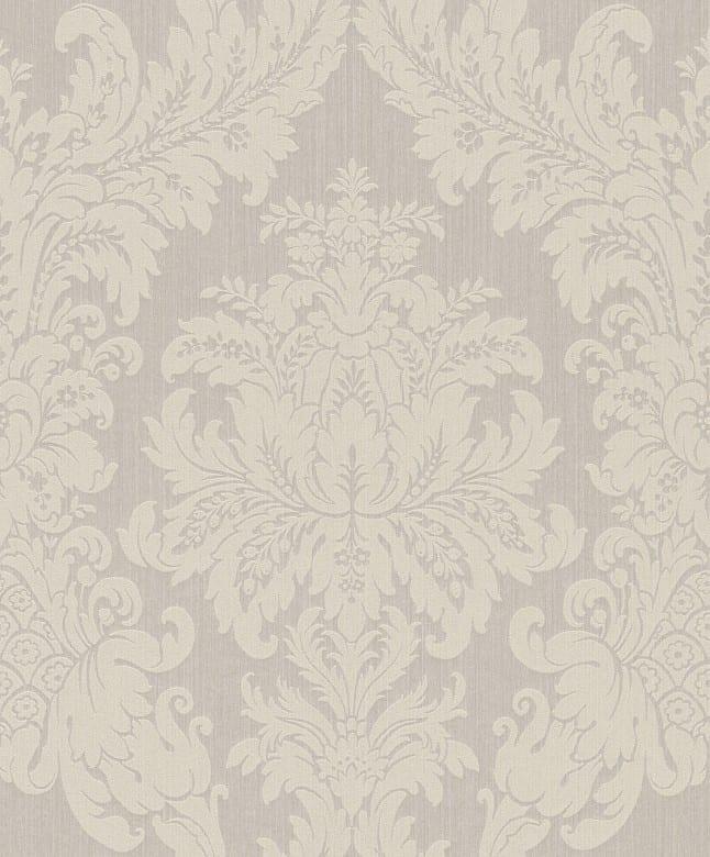 Floral creme - Rasch Vlies-Tapete