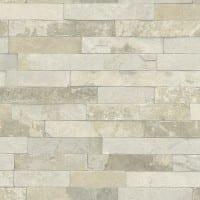 Vorschau: Ziegelmauer Creme - Rasch Vlies-Tapete Steinoptik