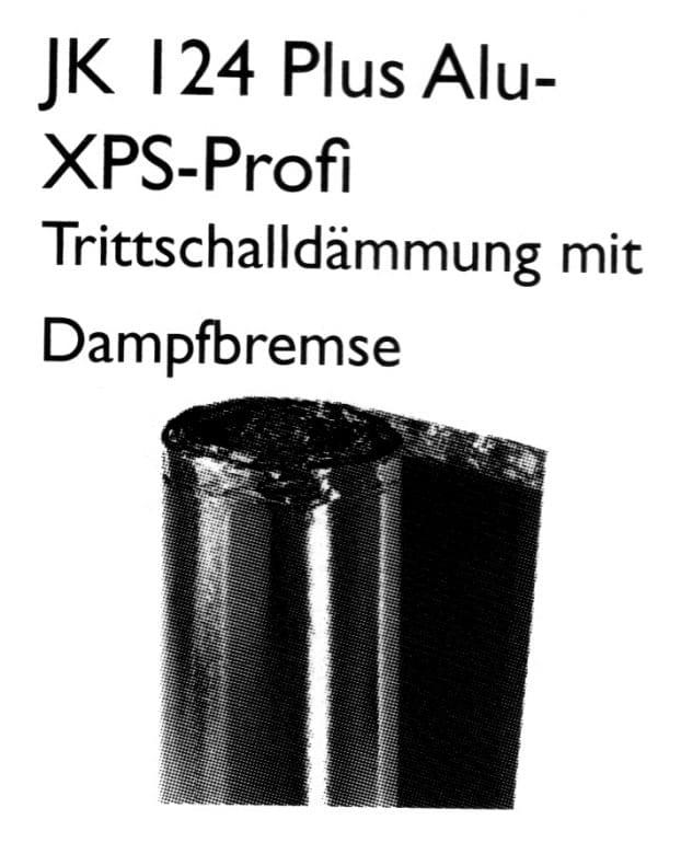 JK 124+ Alu-XPS-Profi Laminat-Unterlage - Joka