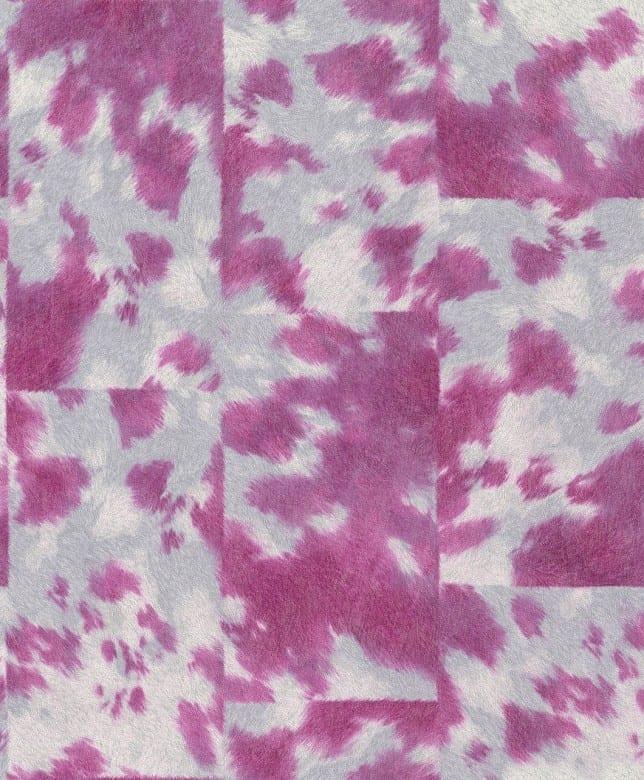 Tierfell Pink - Rasch Vlies - Tapete Tierprint