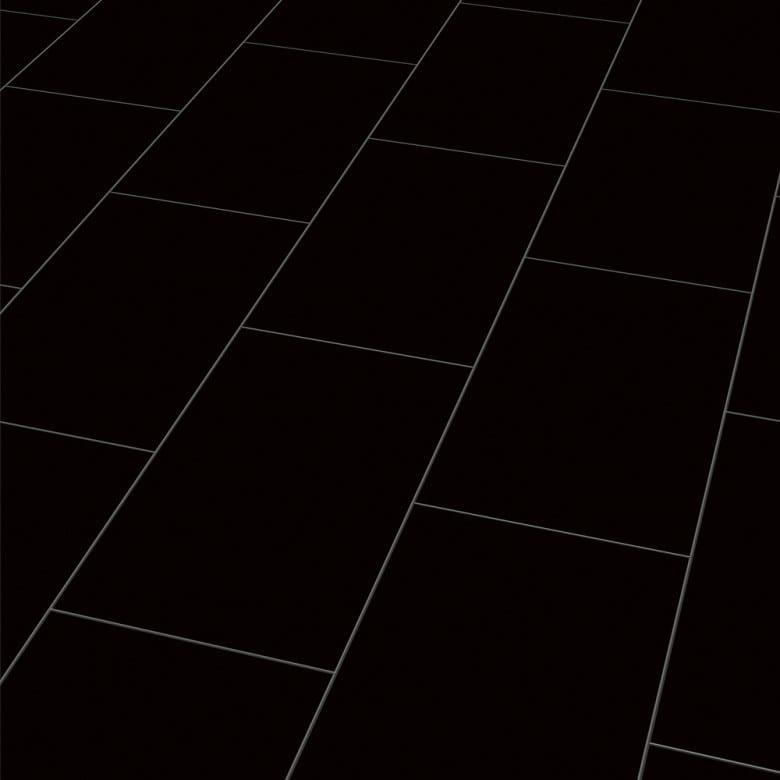 Color black Elesgo Maxi V5 - Laminat Fliesenoptik Hochglanz