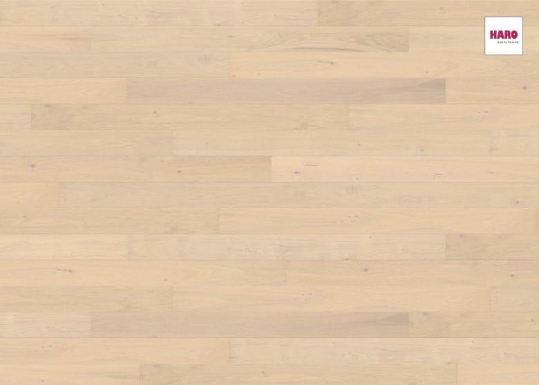 Eiche sandweiß Markant strukturiert 2V - Haro Parkett Landhausdiele Maxim Serie 4000